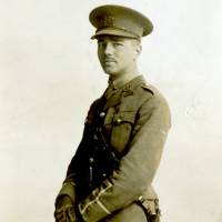 An undated photo provided by the Trustees of the Wilfred Owen Estate and the First World War Poetry Digital Archive shows Owen posing in his uniform. The conflict left behind an extraordinary legacy of art, music literature and film. Among antiwar poems, few were so bitter or indelible as Owen's 'Dulce et Decorum Est.' | AP
