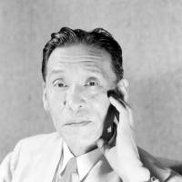 Hitoshi Ashida, who was editor-in-chief of The Japan Times from 1933 until 1939 and went on to become prime minister, poses for the camera on Aug. 1, 1947. | KYODO