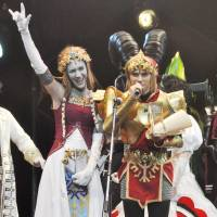 A Russian team wins the World Cosplay Championship on Saturday night in Nagoya after dressing up as characters from the popular video game 'The Legend of Zelda.' | KYODO