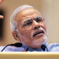 Indian Prime Minister Narendra Modi arrived in Japan on Saturday for an official state visit.   AP