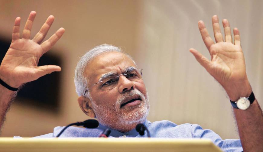 Indian leader Modi arrives for summit with Abe