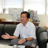Hisashi Sanada says a collaboration agreement with a Swiss sports science academy will draw international teaching expertise and could help students step into high-flying jobs. He says Japan is under-represented in global sports secretariats. | MASAAKI KAMEDA