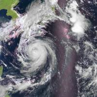 Powerful typhoon on course for Saturday landfall in Shikoku