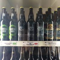 Antenna America specializes in imported beers, served at low prices. | REBECCA MILNER