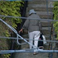 Help for the aged: If next year's consumption tax hike goes through as planned, 10 years of paying pension premiums in Japan should be enough to guarantee you pension payouts at retirement, whether you still live in Japan or not. | MIKA KOJIMA