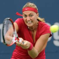Kvitova reaches Connecticut semis