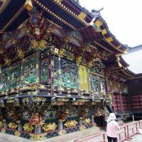 The ornate Menuma Shodenzan Temple in Kumagaya has been designated a national cultural treasure. | MARK SCHREIBER