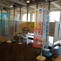 """Kumagaya City  Hall is one of many organizations in the municipality that has set up a """"Cool Share"""" space in which anyone who is starting to wilt in the heat can sit down, relax and in many cases enjoy a beverage and snack. 