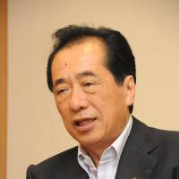 Former Prime Minister Naoto Kan was a key proponent of the feed-in tariff system. | SATOKO KAWASAKI