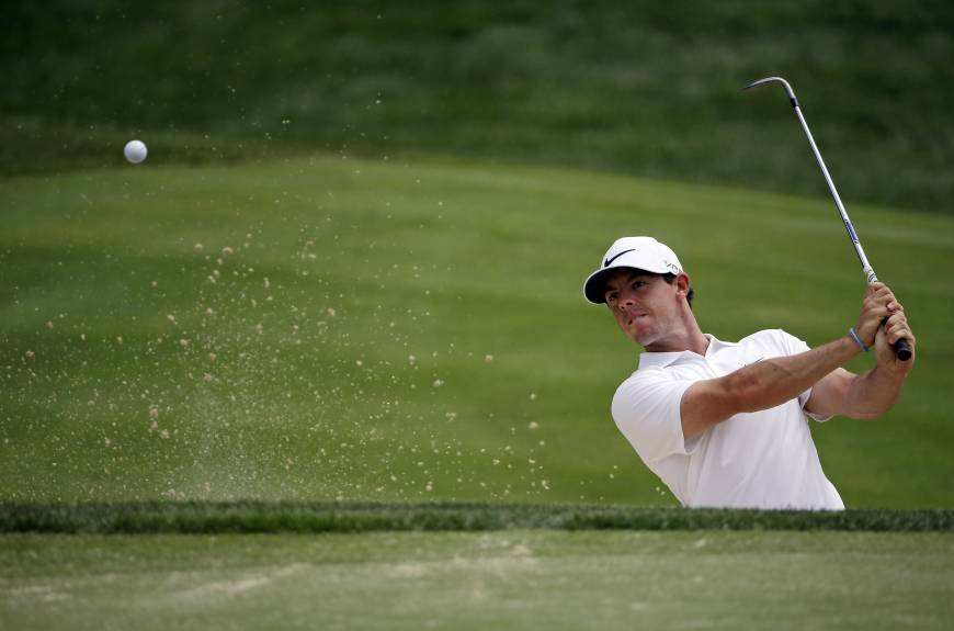 McIlroy trying not to pay attention to hype before PGA Championship