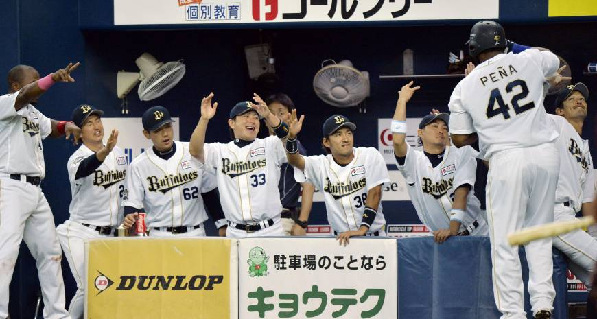 Buffaloes sticking together during pennant race