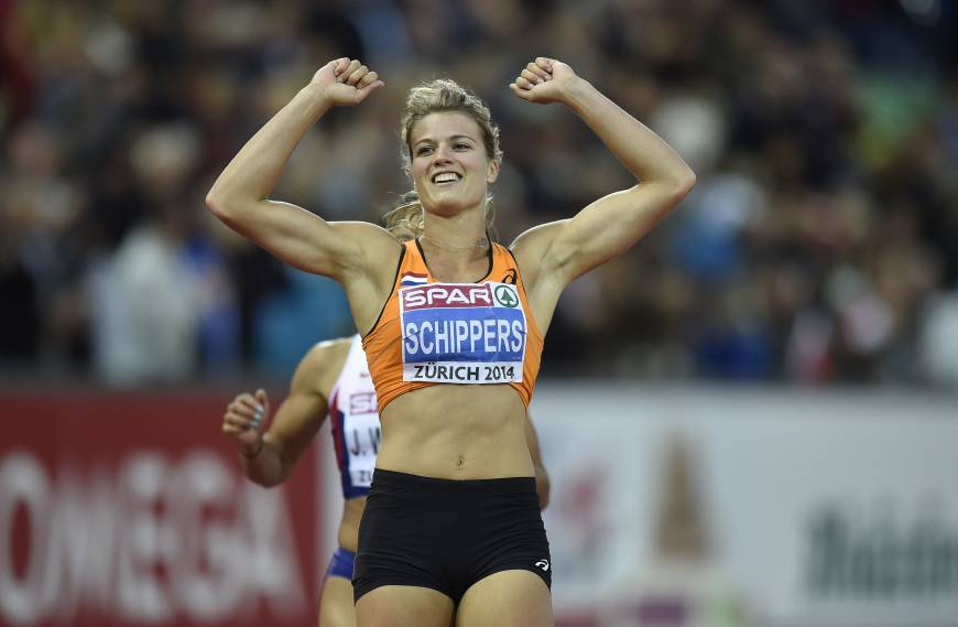 Schippers takes 200 to win double