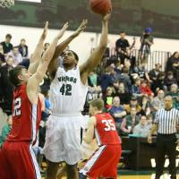 Headed to Japan: Forward Kyle Richardson, seen in action for Portland State last season, will begin his pro career with the Aomori Wat's. | PORTLAND STATE ATHLETICS