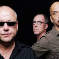 What goes boom: Pixies members Black Francis, David Lovering and Joey Santiago.