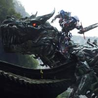 The robots return in 'Transformers: Age of Extinction'