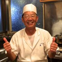 A few years back Aihara was featured by roving TV chef Anthony Bourdain on his TV series 'No Reservations,'  Toriki chef Kunio Aihara hasn't let the fame go to his head. | ROBBIE SWINNERTON