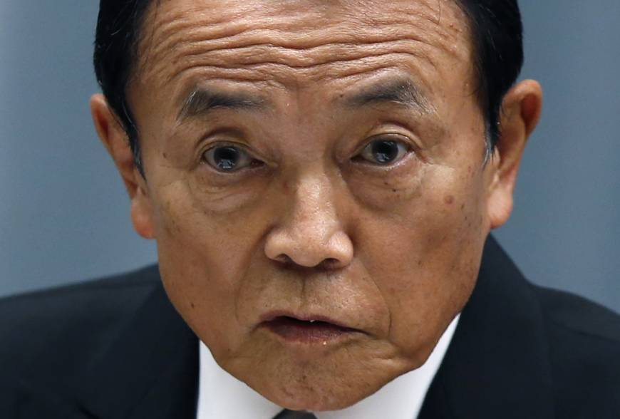 Aso plans new extra budget to cushion sales tax hike to 10%