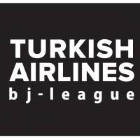 The new Turkish Airlines bj-league logo.