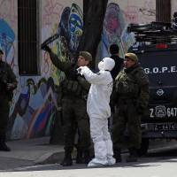 Chilean officials say man died while handling bomb