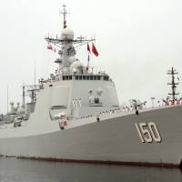 Chinese warships in first call at an Iran port: media