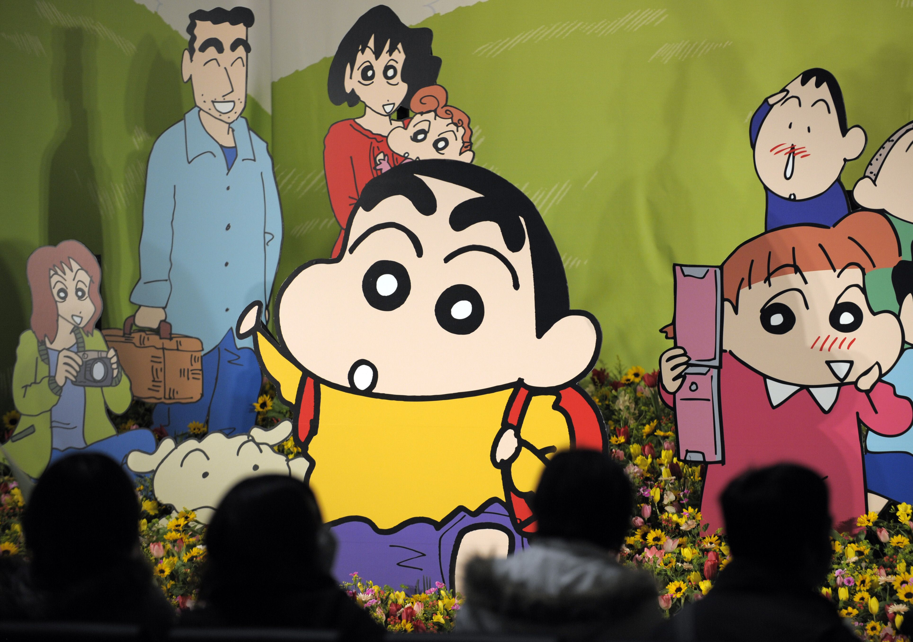 children's anime series 'crayon shin-chan' labeled as porn in