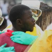 Liberian president appeals to U.S. for help to beat Ebola