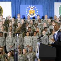 Obama vows U.S. will not fight another ground war in Iraq