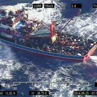 345 apparent refugees from Syria rescued from small boat stranded off Cyprus