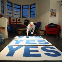 'Yes' camp winning Scotland's battles of ads