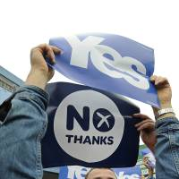 Generation gap opens in Scotland referendum campaigns