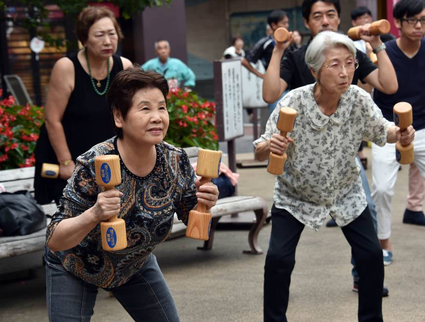 Japan's population of centenarians continues to grow