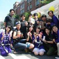 Tohoku students showcase area's products at New York fair