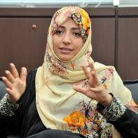 Yemeni journalist devoted to bringing democracy, women's rights to her country