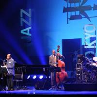 All that jazz: The Quartet Legend performs at the Tokyo Jazz Festival's main Hall stage on Sunday afternoon. The group consists of jazz greats Kenny Barron, Ron Carter, Benny Golson and Lenny White. | © TOKTO JAZZ FESTIVAL, PHOTO BY HIDEO NAKAJIMA