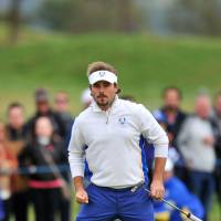 Europe takes control of Ryder Cup