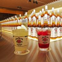 On the rocks: The Jim Beam Bar in Roppongi serves easy-to-drink cocktails for the bourbon-curious. | ANGELA ERIKA KUBO