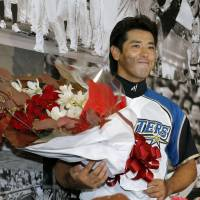 All good things must end: Atsunori Inaba has said he will retire at the end of the season.   KYODO