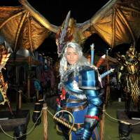 On site: The Tokyo Game Show opens to the public at the Makuhari Messe convention center in Chiba this weekend and sees a record number of game developers taking part. Favorite characters are set to come to life and fans will get the chance to try out new titles on the game floor. | YOSHIAKI MIURA