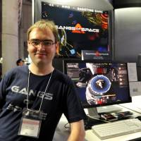 Playing with the pros: Matthieu Guillemot of the studio Little Big MMO is one of 68 indie game developers participating at this year's Tokyo Game Show. | YOSHIAKI MIURA