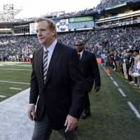 Questions still unanswered: Roger Goodell and the NFL have come under renewed fire concerning the league's handling of the situation involving former Ravens running back Ray Rice. | AP