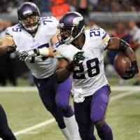 Sent away: The Minnesota Vikings have placed star running back Adrian Peterson on the exempt list as he addresses child abuse allegations. | AP