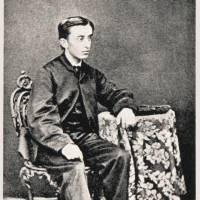 Lafcadio Hearn, 16, poses for a photo in Ireland.  | COURTESY OF THE KOIZUMI FAMILY COLLECTION