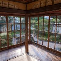 The main interior room of Lafcadio Hearn's house and its garden view remain almost as the writer left them in the 1890s. | STEPHEN MANSFIELD