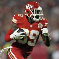 Charles' return fuels Chiefs in rout of Pats