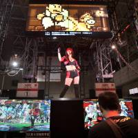 The 'Guilty Gear Xrd: Sign' booth at Tokyo Game Show. | YOSHIAKI MIURA