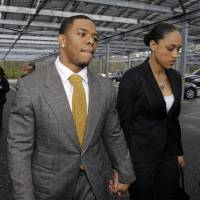 Controversy continues: The uproar following the recent release of further video footage of the incident involving ex-Ravens star Ray Rice and his wife Janay shows no signs of abating. | AP