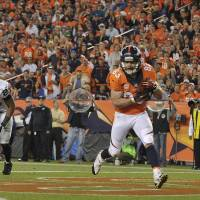 Early return: Denver Broncos wide receiver Wes Welker, who had been suspended for four games, will be eligible to play this weekend under the NFL's new performance-enhancing drug policy. | AP