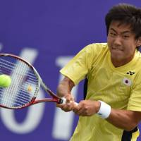 Nishioka earns Japan's first men's singles tennis gold at Asian Games in 40 years