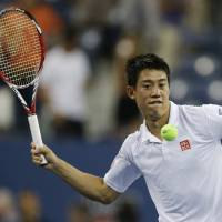 Nishikori continues pursuit of history at U.S. Open