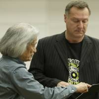 Toward the big day: Maestro Taijiro Iimori attends a rehearsal session for the New National Theatre, Tokyo, production of Richard Wagner's 'Parsifal.' CHIEKO KATO